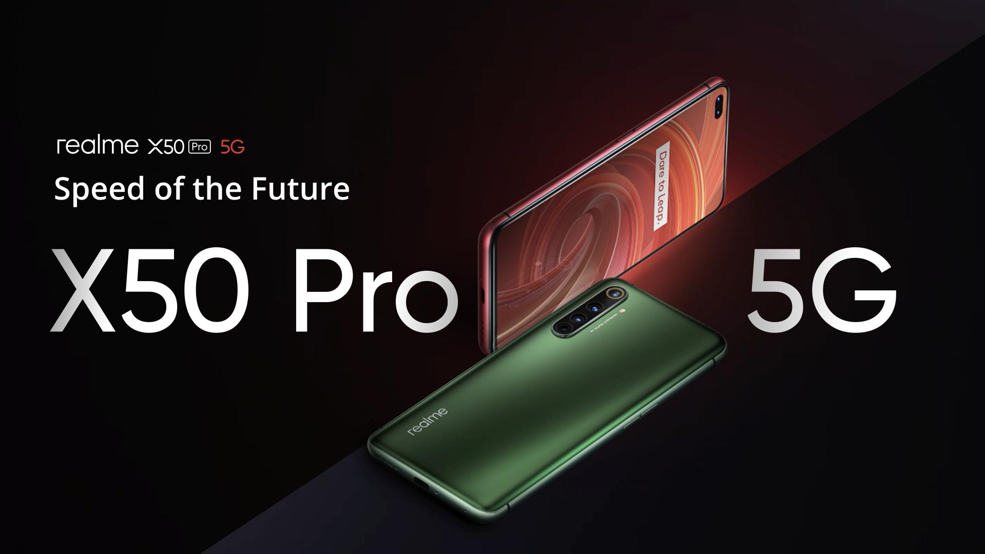 Realme X50 Pro 5G: llä on 6 kamera, Snapdragon 865, nopea lataus …