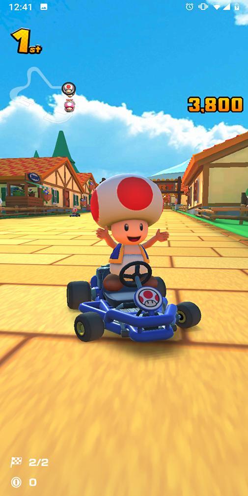 Reseñas de Mario Kart Tour -