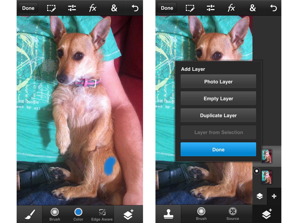 Adobe Photoshop Touch untuk ulasan Telepon 1