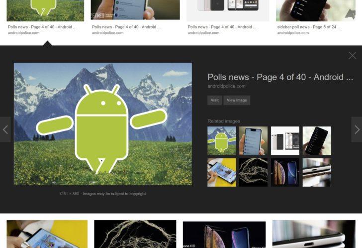 Kembalikan tata letak Gambar Google lama dengan ekstensi peramban ini untuk Chrome dan Firefox