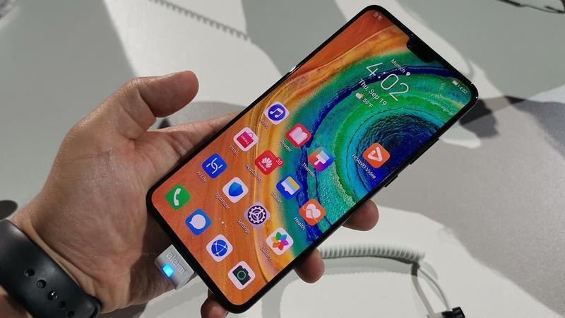 Huawei Mate 30 arvostelu: harjoittelu