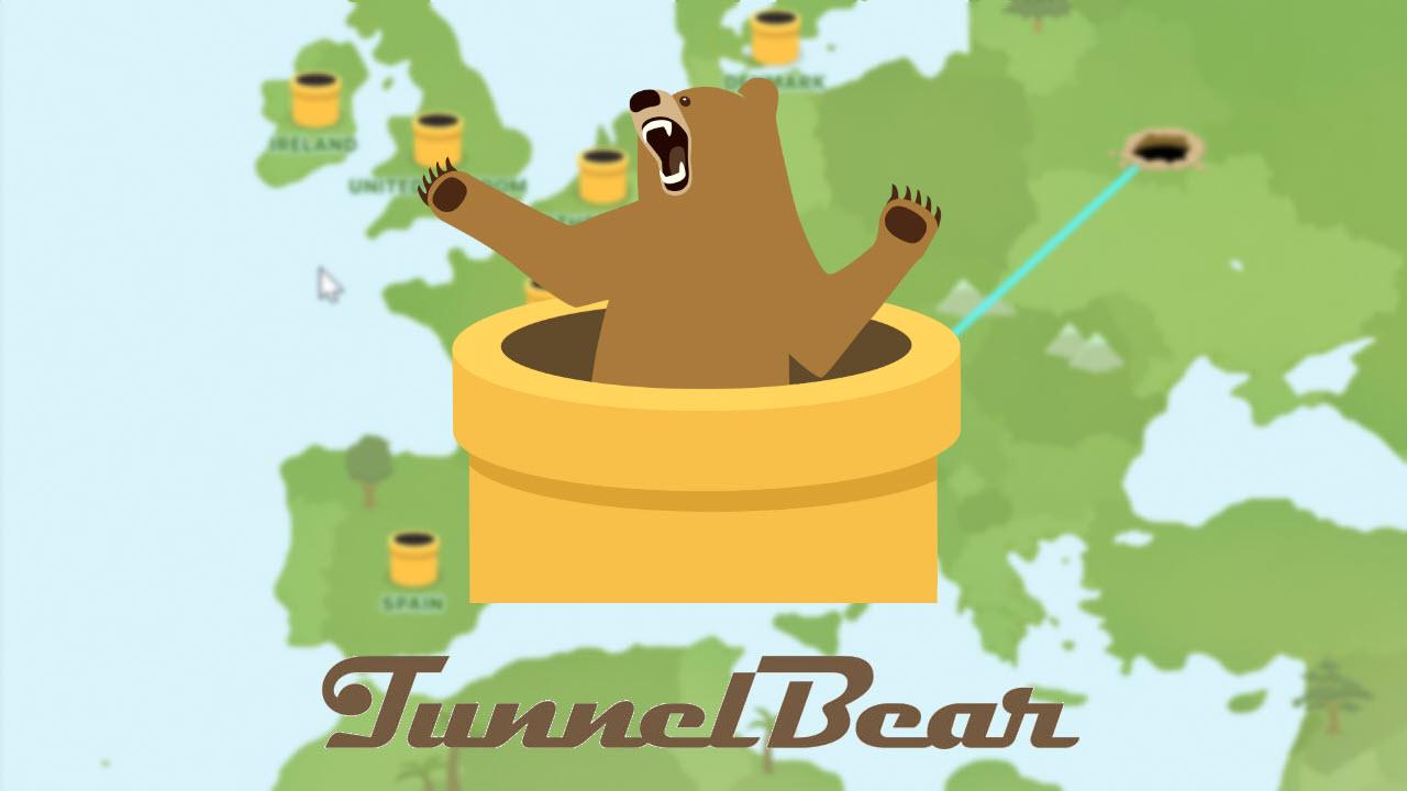 Revisiones de TunnelBear VPN: simple pero seguro 2