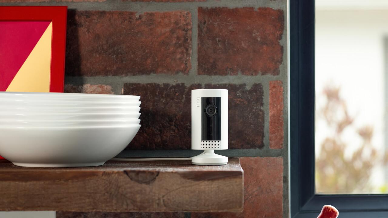 Ring Indoor Cam: Günstigste Ring-Kamera startet heute in Deutschland