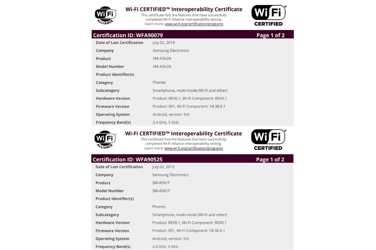 Samsung Galaxy Tekniset tiedot A50 AnTuTu-luettelossa; Kaksi Galaxy…