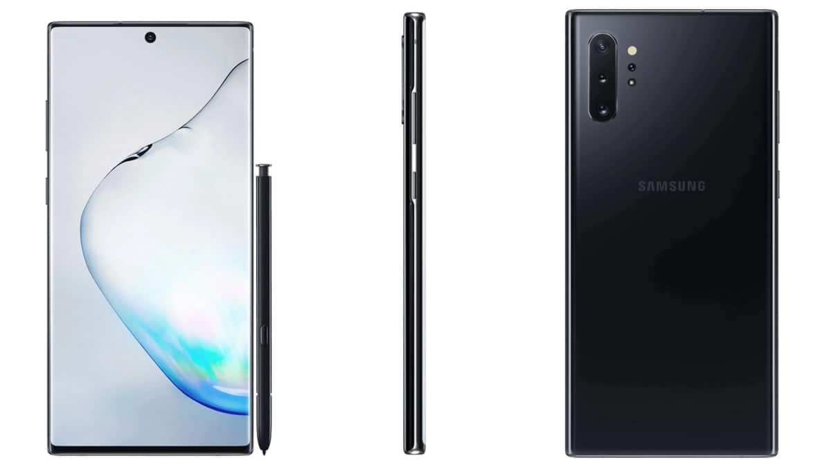 Samsung Galaxy Note 10, Galaxy Note 10+ Spotted on US FCC Ahead of Launch Next Month, Photos Tip Design Details