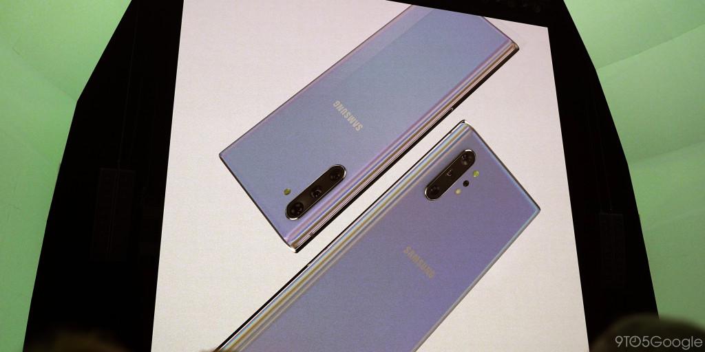 Samsung Galaxy Note  10 seri diumumkan dengan dua ukuran, tanpa jack headphone, $ 949