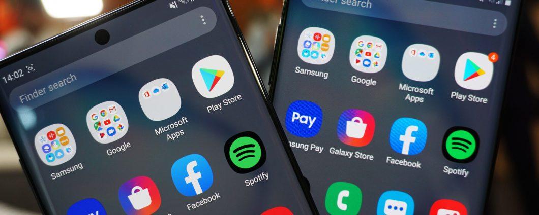 Samsung Galaxy Note10 et Note10 + sont au-dessus Amazon 1