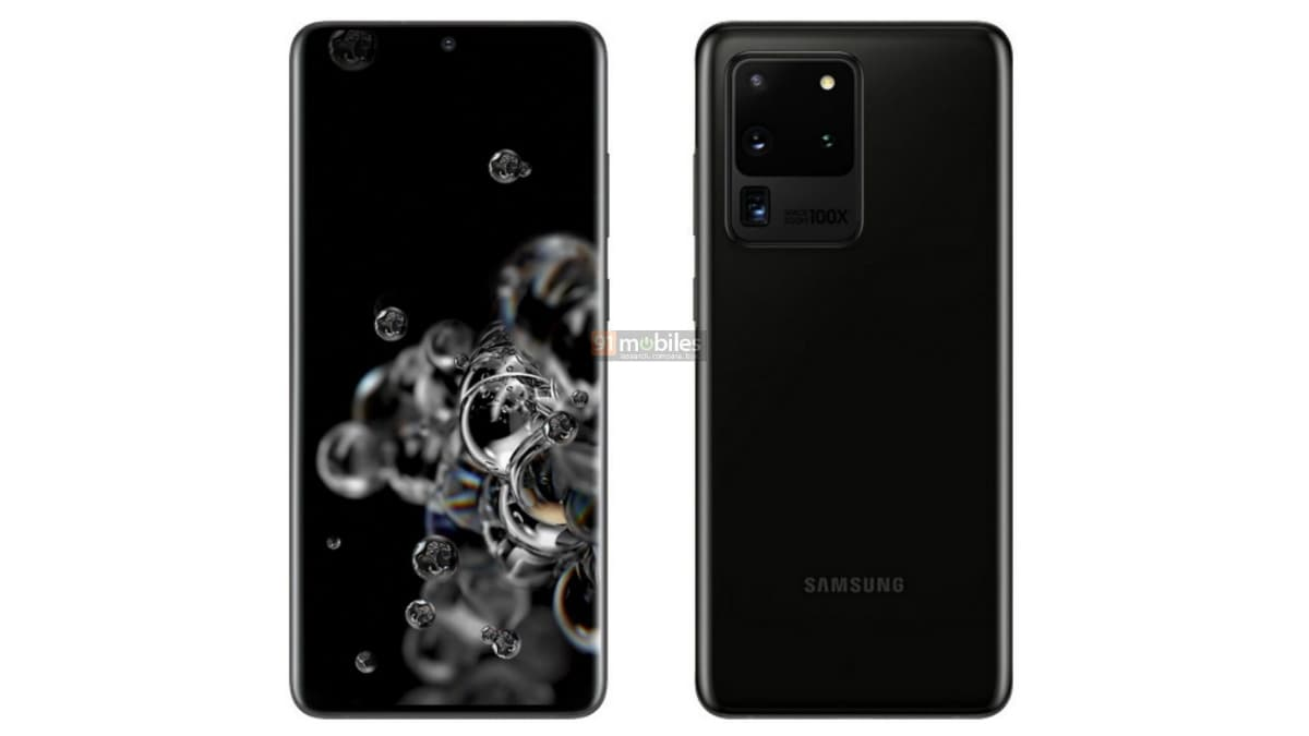 Samsung Galaxy S20+, Galaxy S20 Ultra Pre-Order Customers Rumoured to Get Galaxy Buds+, More Renders Surface