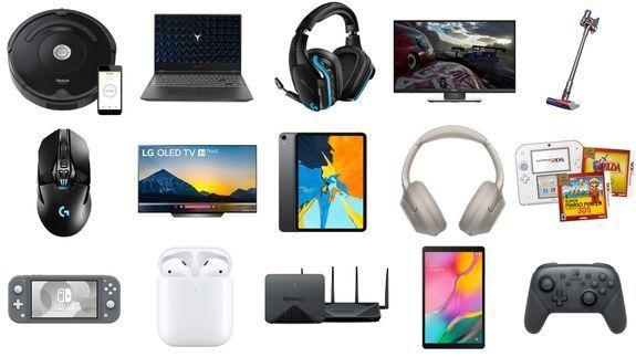 Samsung Galaxy, iRobot Roomba, LG 4K TV, Nintendo Switch ja enemmän …
