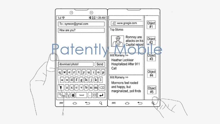 Samsungin patentoitu uusi magneettinen sarana kaksoispuhelimelle …