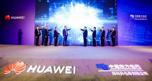 Shenzhen enerji təchizatı Huawei-yə İKT yeniliklərini nümayiş etdirmək üçün qoşulur