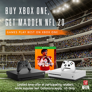 Feel like an NFL superstar: buy an Xbox One console, get a ... 1