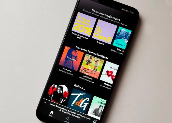 Spotify añade una gran novedad en Android 10: línea de tiempo