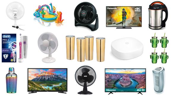 Televisor Samsung 4K, ventilador Honeywell, cepillo de dientes eléctrico Oral-B, accesorios BarCraft y ... 2