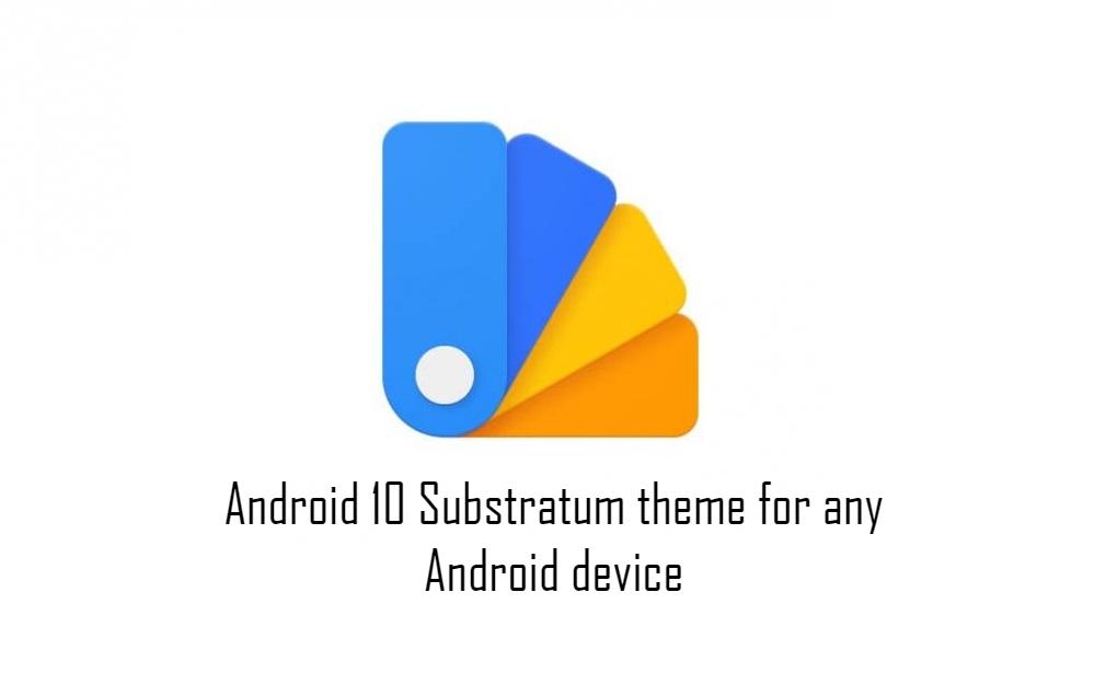 Android 10 -alustan teema kaikille Android-laitteille