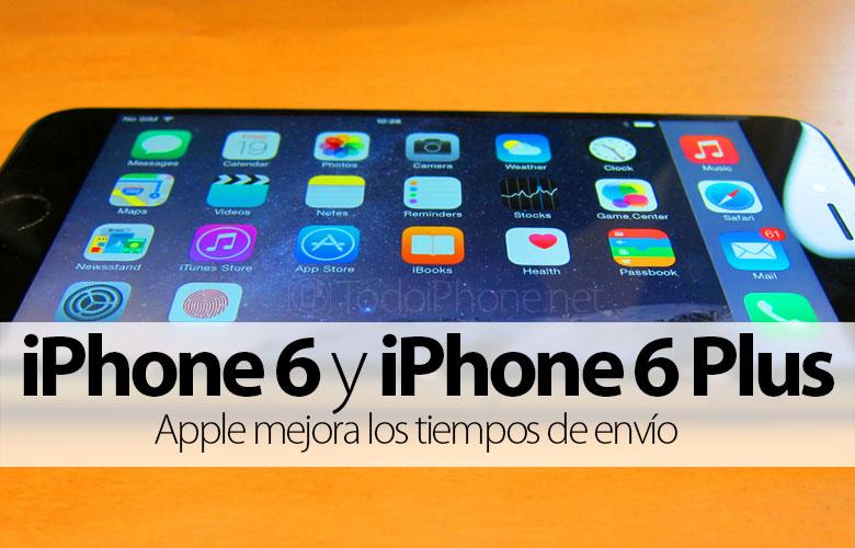 IPhonen toimitusaika 6 ja iPhone 6 Plus alennettu