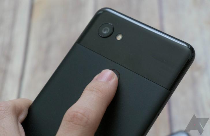 Menyentuh sensor sidik jari tidak lagi membuat layar Anda tetap aktif di Android 10