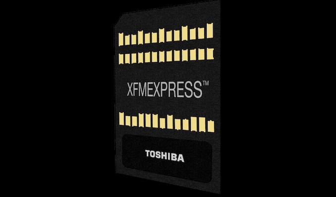 Toshiba esittelee uuden pienen uuden NVMe SSD -muotokertoimen