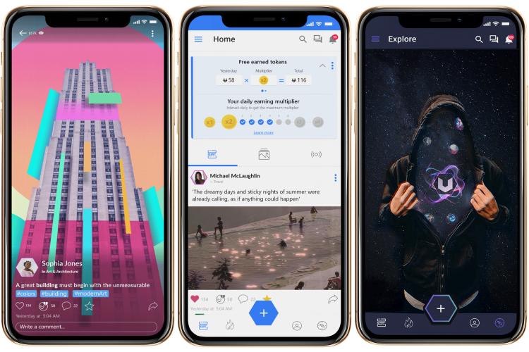 Uhive: una plataforma segura de redes sociales que comparte sus ganancias