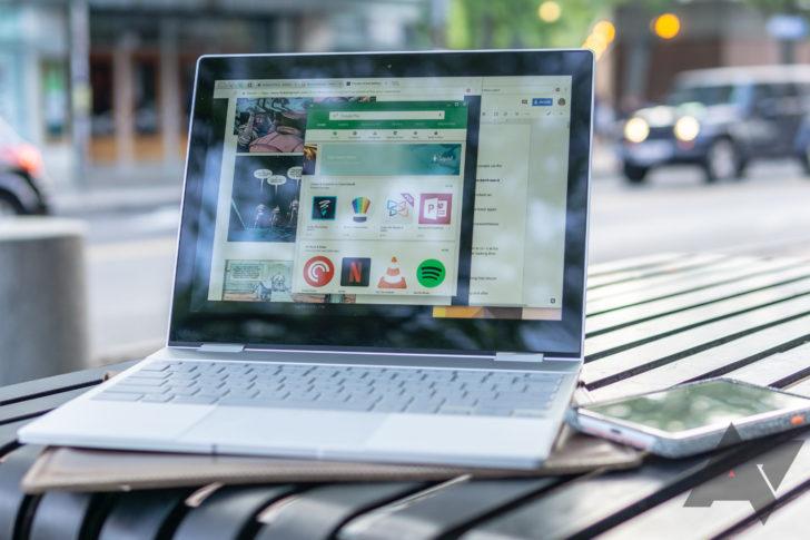 [Update: Three-finger slide] Chrome OS akan mendapatkan gerakan touchpad untuk bergerak di antara desktop virtual