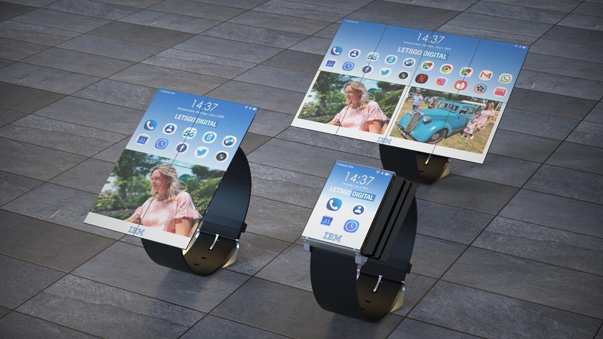 Gunakan smartwatch IBM baru juga sebagai smartphone dan tablet 1
