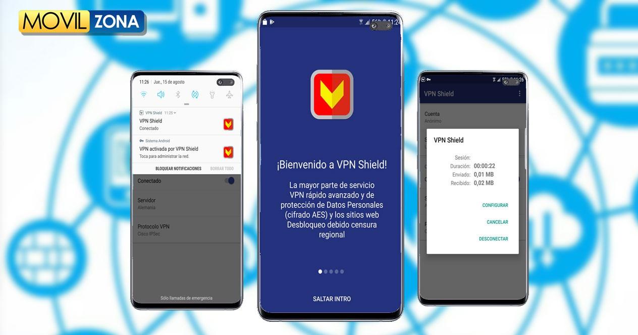 VPN Shield, tránh các hạn chế kết nối ở mọi nơi trên thế giới 2