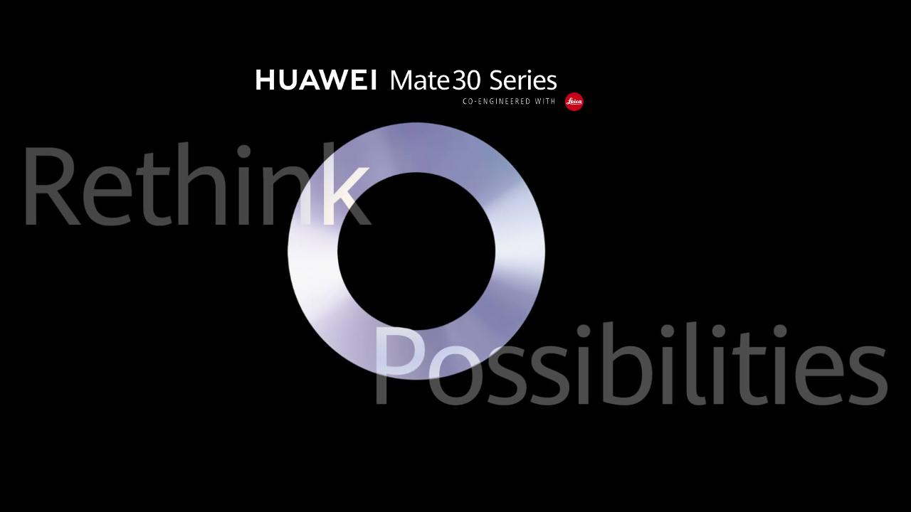 Tonton Huawei Mate 30 mengungkapkan streaming langsung mulai dari jam 5 pagi PDT
