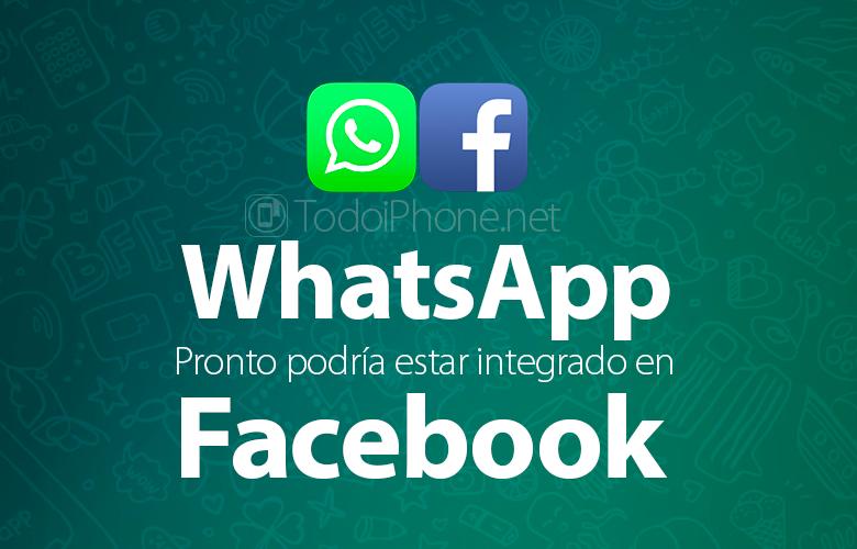 WhatsApp voidaan integroida välittömästi Facebook