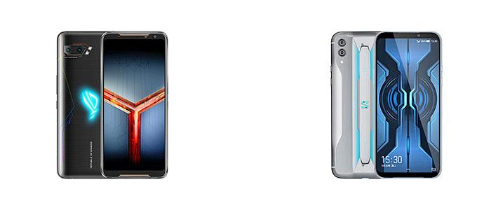 Xiaomi Black Shark 2 Pro vs Asus ROG Phone 2: perbandingan fitur 1