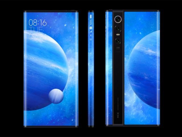 Xiaomi Mi MIX Alpha: kiinalainen yritys, joka keksii kaarevia näyttöjä