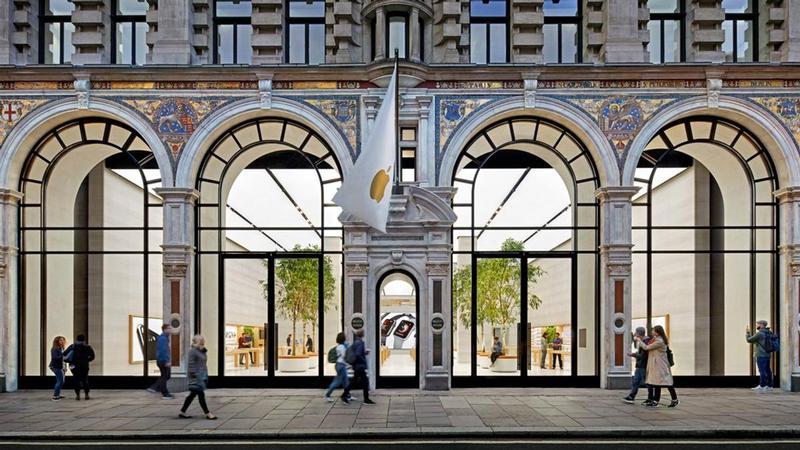 apple store regents street london