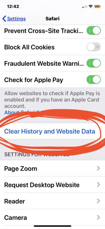 Cómo borrar el caché de Safari en iPhone o iPad