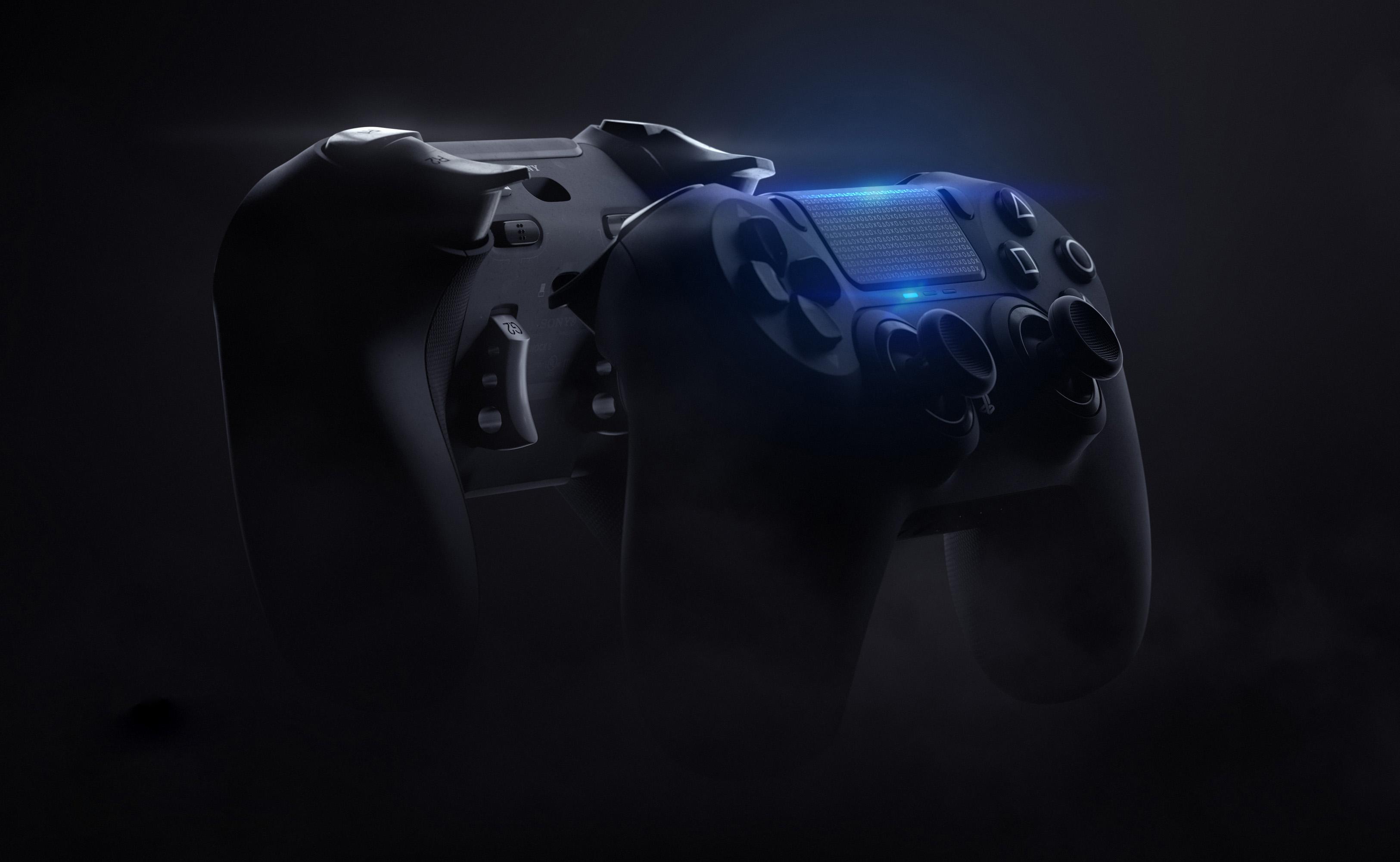 this concept imagines Dualshock 5 & # 039; Pro & # 039; 1