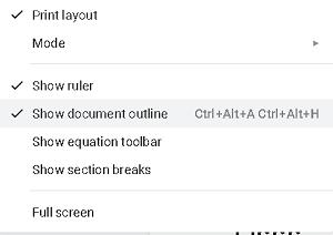 documentos de google cómo agregar al esquema