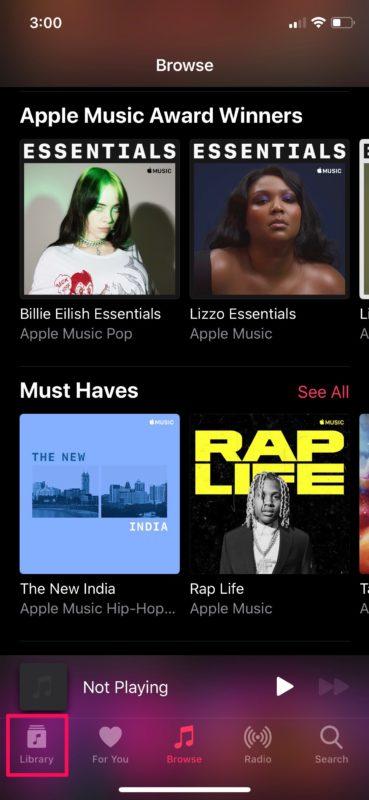 Cómo ver tus canciones reproducidas recientemente en Apple Música
