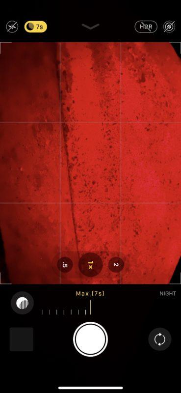 Usar la cámara de modo nocturno en iPhone 11 Pro y iPhone 11