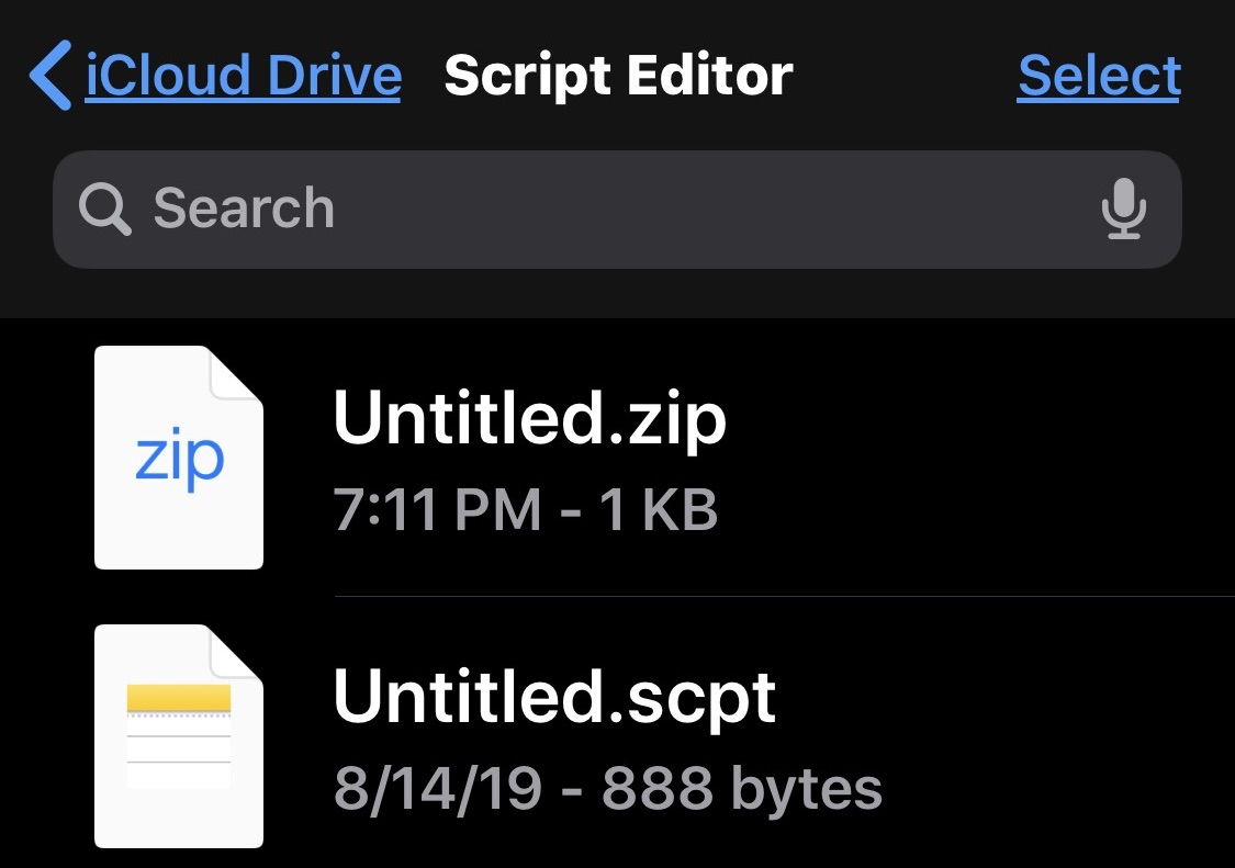 How to make zip files on iPhone and iPad