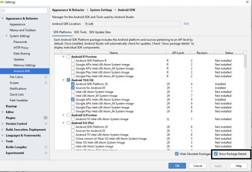Android Studio üçün Sdk Alətlərini necə yükləmək olar 5
