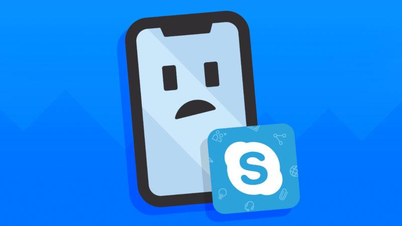 Skype ¿No funciona en iPhone? Aqui esta The Reparar.