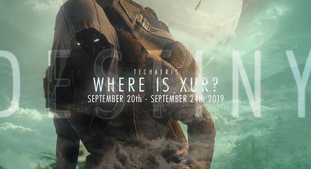 Di mana Xur dan apa yang dia jual? Minggu 20-24 September