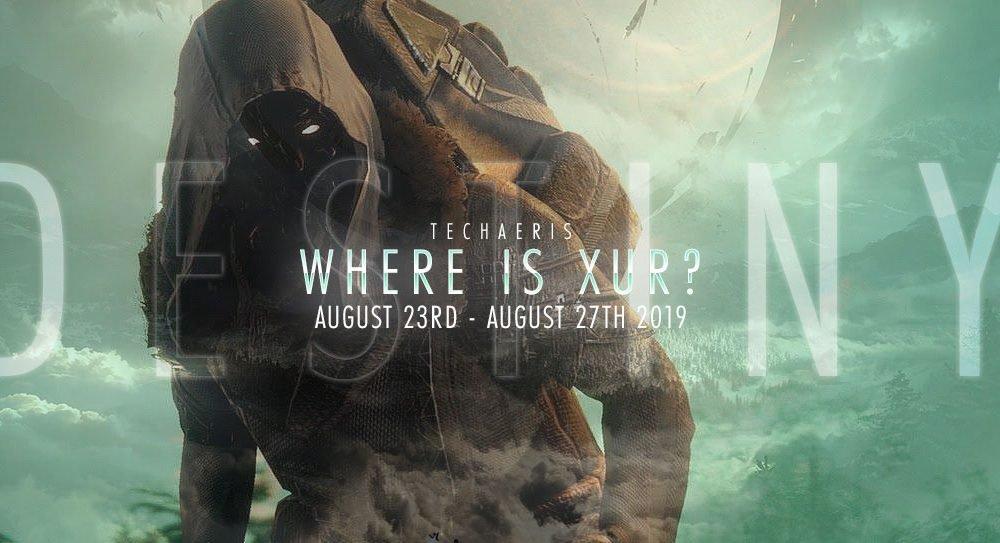 Di mana Xur dan apa yang dia jual? Minggu 23-27 Agustus