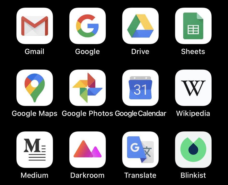 Haruskah iOS secara otomatis mengaktifkan ikon aplikasi putih atau gelap ketika Mode Gelap diaktifkan? 1