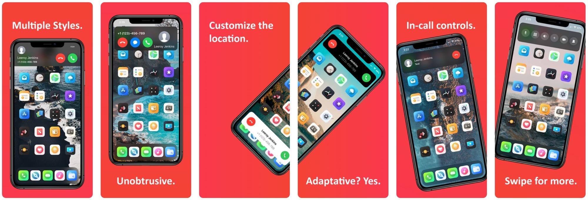 Hatar du iPhone: s inbyggda gränssnitt för inkommande samtal? Du kanske gillar Scorpion 1