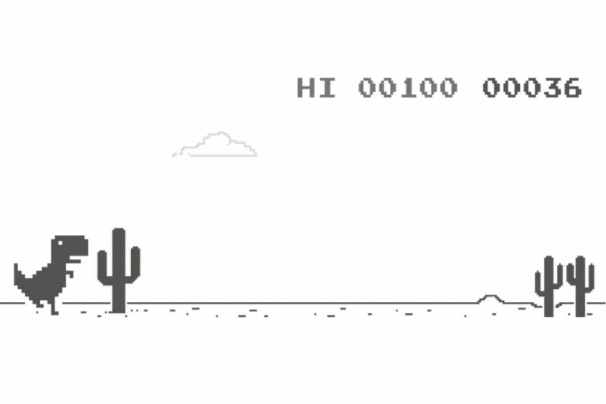 Apa yang terjadi jika saya menyelesaikan game dinosaurus Google Chrome?