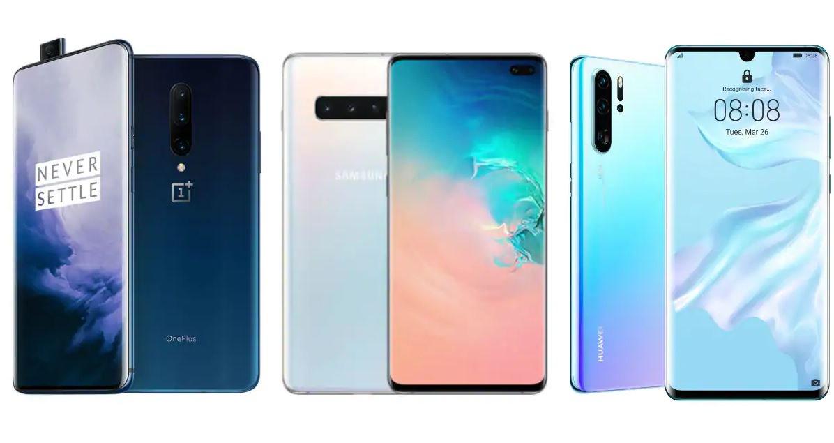10 parasta älypuhelimen älypuhelinta syyskuu 2019