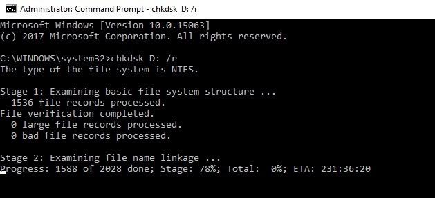 Cara memperbaiki bad sector aktif Windows 10 2