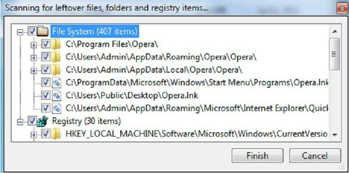 geekuninstaller remove remnants of software
