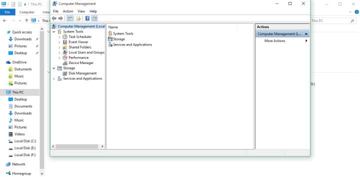 Компьютерное управление windows 10