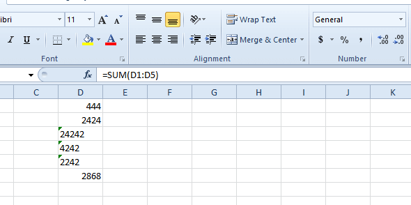 Metin biçimindeki Excel elektronik tablosuna sahip hücreler doğru şekilde eklenmiyor