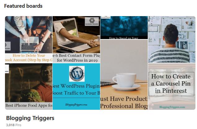 kullanmanın 9 yolu Pinterest büyük trafiği blogunuza yönlendirin 2